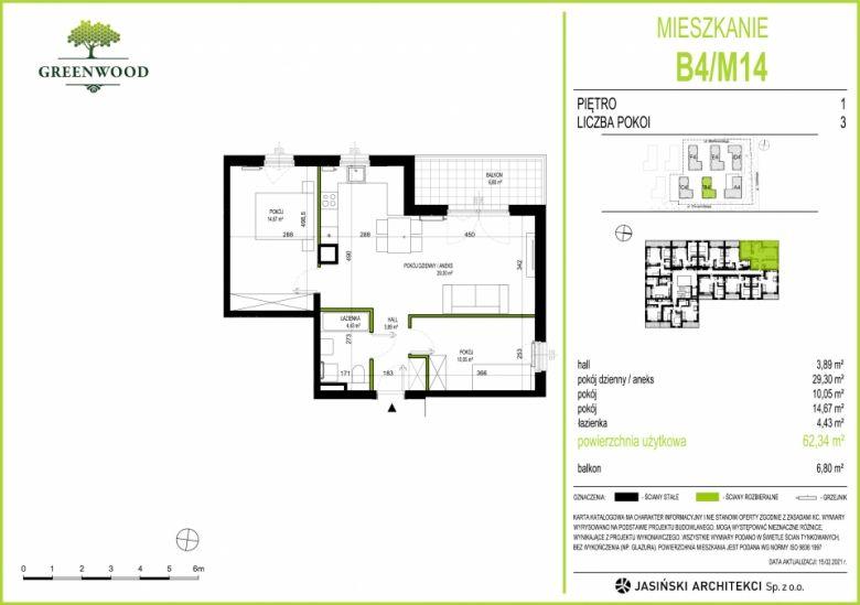 Mieszkanie B4/M14