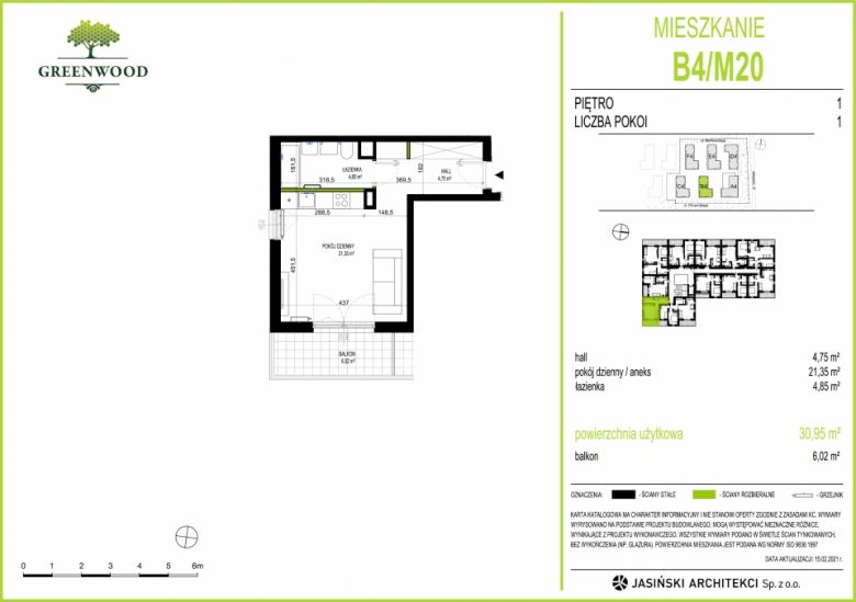 Mieszkanie B4/M20