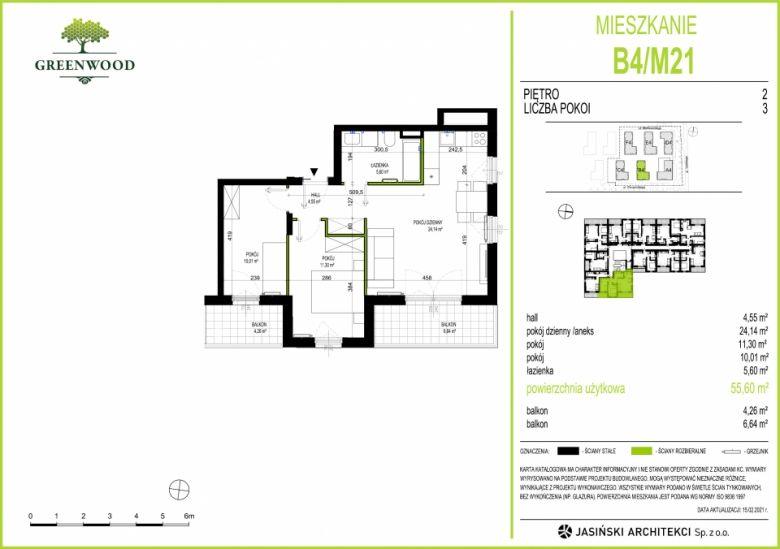 Mieszkanie B4/M21