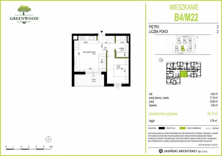 Mieszkanie B4/M22