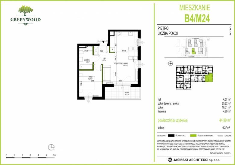 Mieszkanie B4/M24
