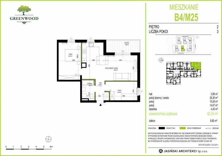 Mieszkanie B4/M25
