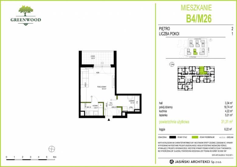 Mieszkanie B4/M26