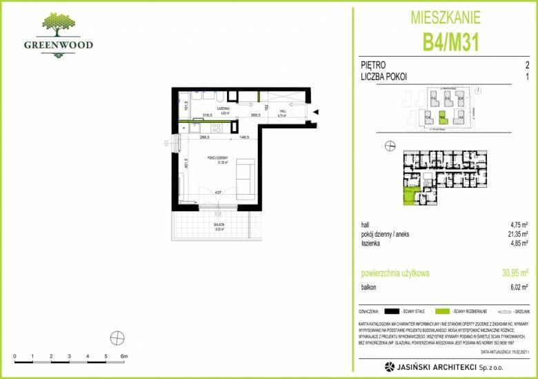 Mieszkanie B4/M31