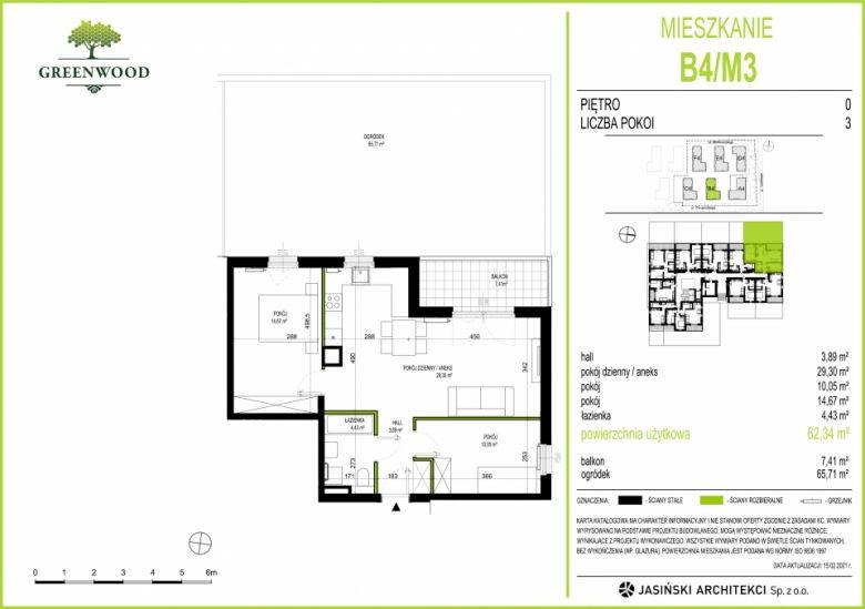 Mieszkanie B4/M3