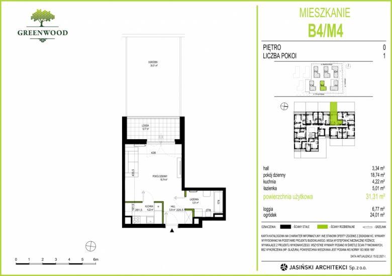Mieszkanie B4/M4