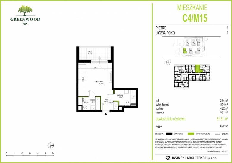 Mieszkanie C4/M15