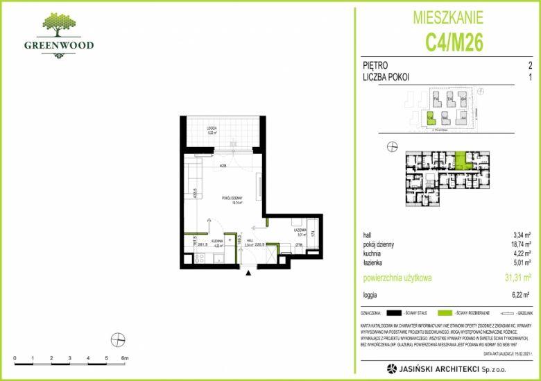Mieszkanie C4/M26