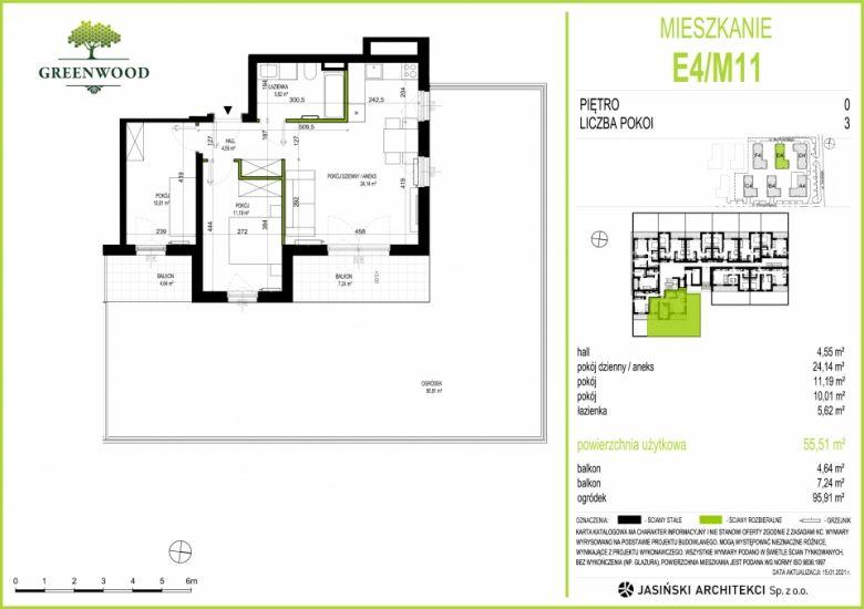 Mieszkanie E4/M11