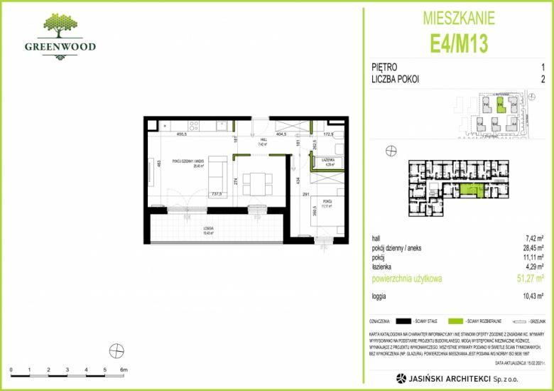 Mieszkanie E4/M13