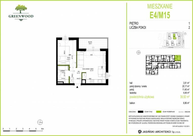 Mieszkanie E4/M15