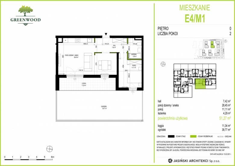 Mieszkanie E4/M1