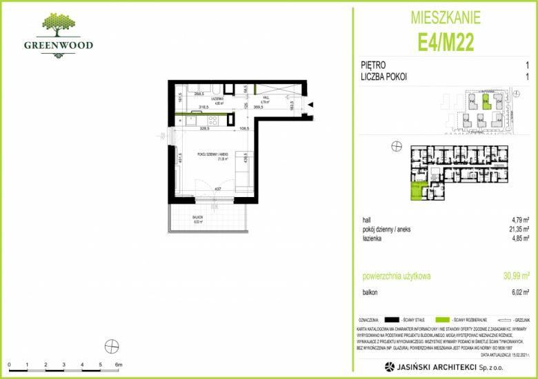 Mieszkanie E4/M22