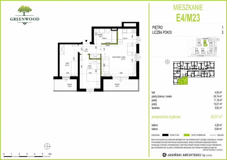 Mieszkanie E4/M23