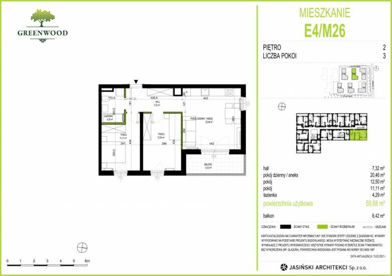 Mieszkanie E4/M26
