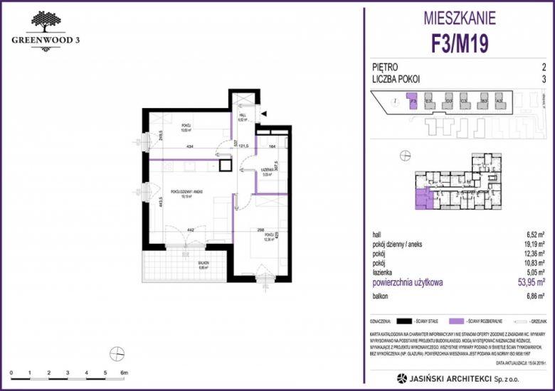 Mieszkanie F3/M19