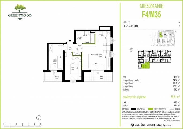 Mieszkanie F4/M35