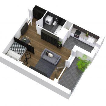 Mieszkania 1-pokojowe