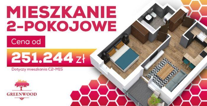 Mieszkanie 2-pok. od 251.244 zł